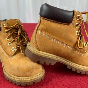 Little Boys Timberland Boots Size 8
